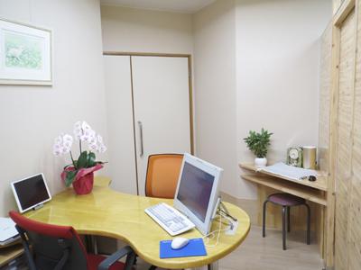 宮﨑クリニック 産婦人科診療室 診察室
