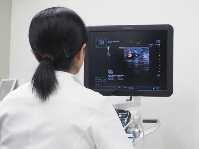 宮﨑クリニック 超音波診断装置